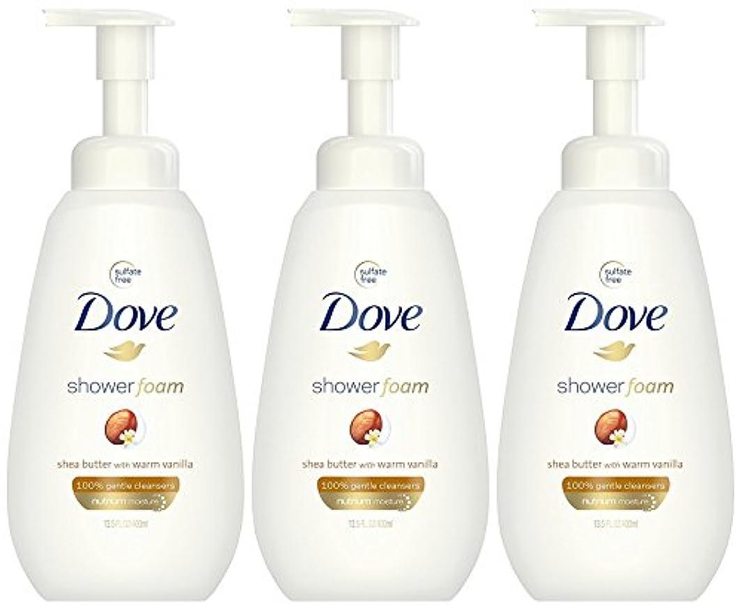 掃く他の場所確執Dove ウォームバニラフォーミングボディーウォッシュで泡シアバターシャワー、13.5オンス(3パック)