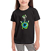 Aidear Top of The Morning Children's T-Shirt Fashion Short Sleeve Cotton Kids Tops Boys Girl T Shirt