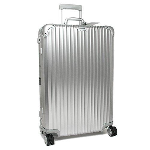 (リモワ) RIMOWA リモワ スーツケース RIMOWA 923.73.00.4 TOPAS トパーズ 78CM 85L 7~10泊用 4輪 TSAロック付 キャリーケース SILVER [並行輸入品]