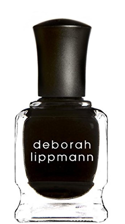 構築する浜辺ピアース[Deborah Lippmann] デボラリップマン フェイド トゥ ブラック FADE TO BLACK マットなブラック。 発色よく透けずにしっかり色付きます カッコイイ、インパクトのあるネイルポリッシュです 容量15mL