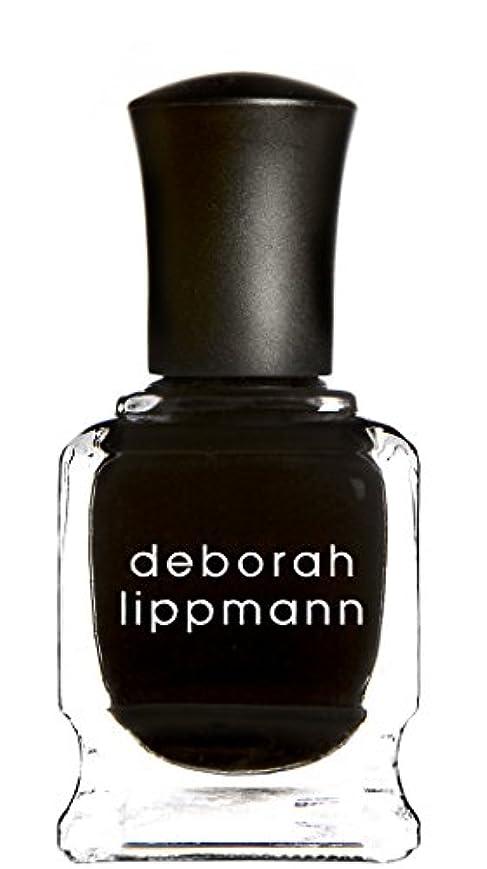 ポンプ肉腫もろい[Deborah Lippmann] デボラリップマン フェイド トゥ ブラック FADE TO BLACK マットなブラック。 発色よく透けずにしっかり色付きます カッコイイ、インパクトのあるネイルポリッシュです 容量15mL