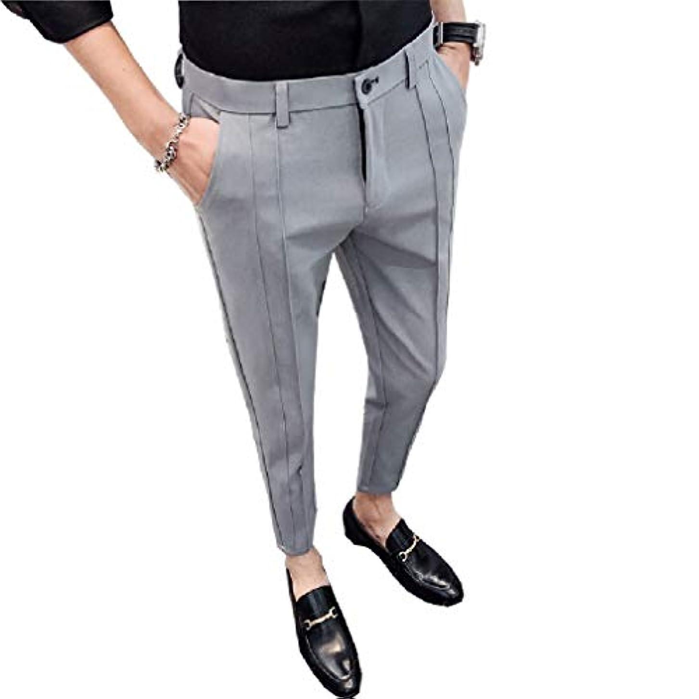 なすコインランドリークリスマスTootess Men No Iron Hidden Expandable Waist Classic Fit Flat-Front Ankle Pants