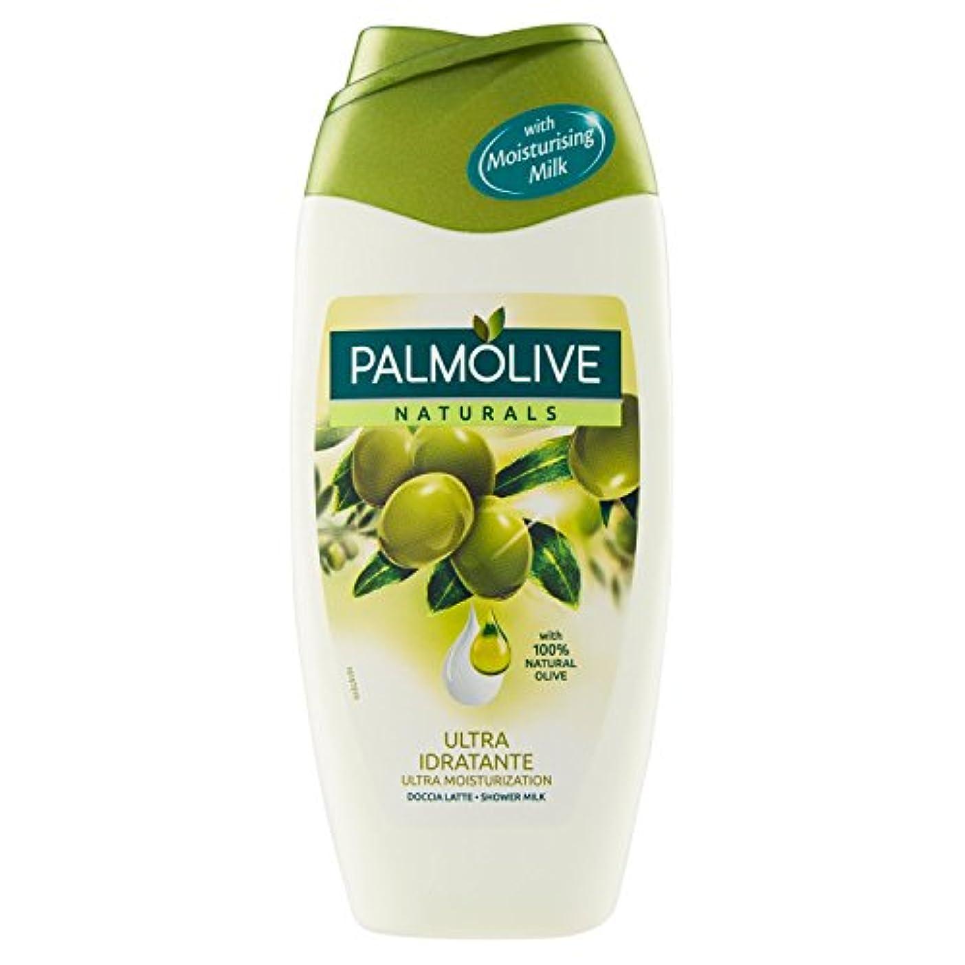 モス世論調査失礼なPalmoliveシャワージェルNaturalsオリーブミルク250 ml