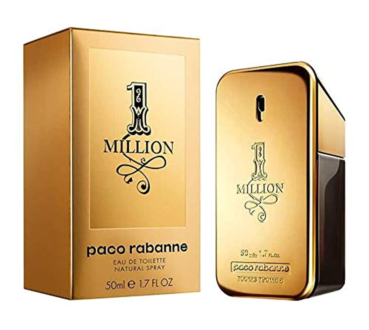 新年速記まどろみのあるパコ ラバンヌ PACO RABANNE ワンミリオン EDT SP 50ml
