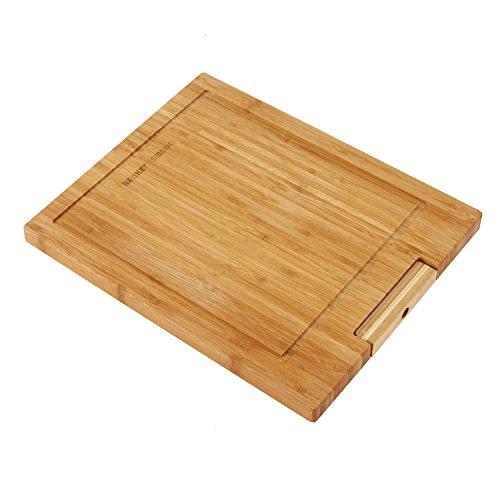 (ハンキ)Hankey まな板 立て型 天然竹製 抗菌 溝付き 34x26.5x2cm ZS02