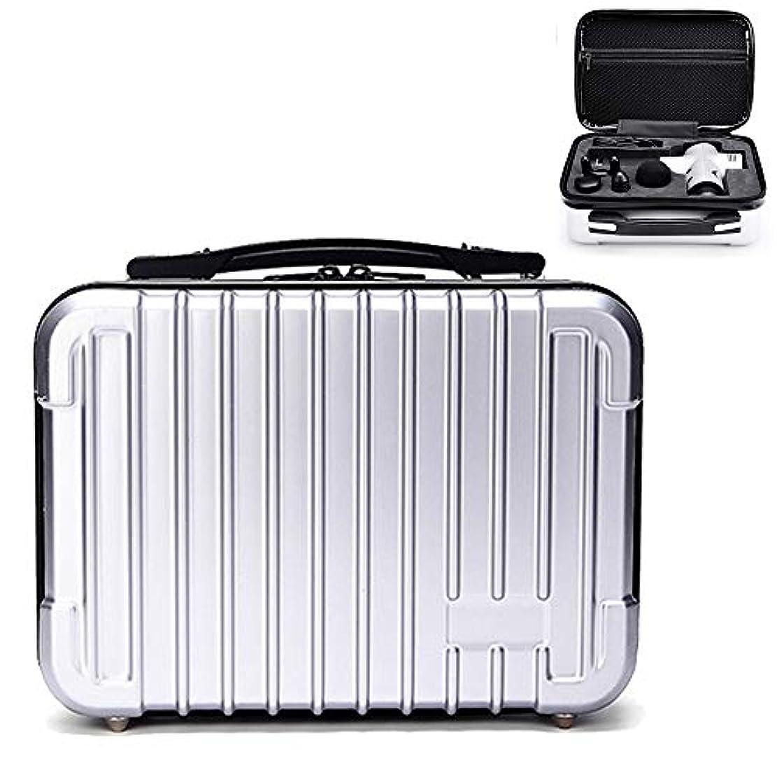 毒性忌避剤エネルギーHonbobo HYPERICE HYPERVOLT ハイパーボルト対応ケース 収納ボックス スーツケース (シルバー)