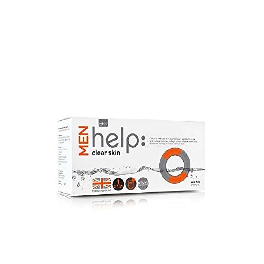 剥離ラッカスモートWorks With Water Men's Help: Clear Skin Soluble Supplement (28 X 3.5G) (Pack of 6) - クリアな肌可溶性サプリメント(28 3.5グラム)...