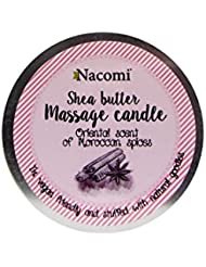 Nacomi Shea Butter Massage Candle Oriental Scent Of Moroccan Spices 150g [並行輸入品]