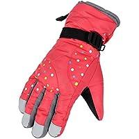 スキー用手袋レディースメンズWindoproof防水暖かい手袋の雪スキースノーボードスノーモービル
