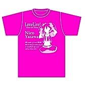 ラブライブ オリジナルシルエットTシャツ カラー.Ver『矢澤 にこ』 (L)