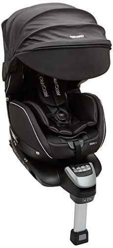 Recaro レカロ ゼロワン セレクト オニキスブラック RC6305.21548.07 新生児~4才頃までの360°回転式チャイルドシート ISOFIX取付 ASP + 大型サンシェード付きのフル装備モデル