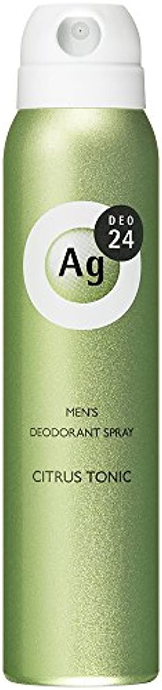 珍しい汗アシストエージーデオ24 メンズデオドラントスプレー シトラストニックの香り 100g (医薬部外品)