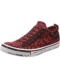 (ディーゼル) DIESEL ユニセックス コンフォータブル スリッポンスニーカー DIESEL IMAGINEE S-DIESEL MAGINEE LOW SLIP-ON - sneakers Y01700P1669