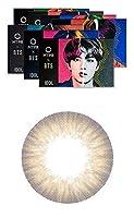 [2枚入り] BTS ディエヌエイ&アイドル(BTS DNA&IDOL) by OLENS カラコン 1ヶ月 マンスリー 度あり度なし 14.2mm BTSカラコン 防弾少年団 (アイドルマイセルフヘーゼル(IDOL HZ), PWR: -7.00)
