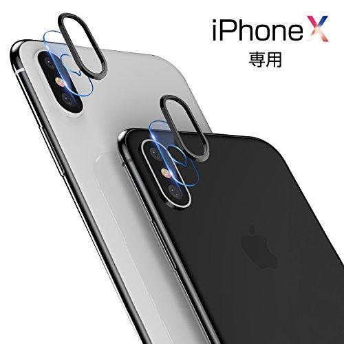 iPhone x ガラスフィルム カメラフィルム iphon...