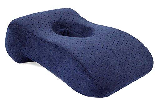 [해외]KINDOYO 낮잠 베개 저 반발 쿠션 (사무실 | 책상 | 의자에서 낮잠 수면) 요통 완화에 목 베개 베개 빨 커버 | 전 5 색/KINDOYO Nap sleep crawling low repulsion cushion (in office | desk | nap sleep on chair) Neck pillow pillow to relieve b...