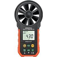 Proster デジタル風速計 風量計 風速計測 LCDバックライト 手軽 小型 釣り 射撃 ドローン撮影などに適用 18ヶ月保証期間