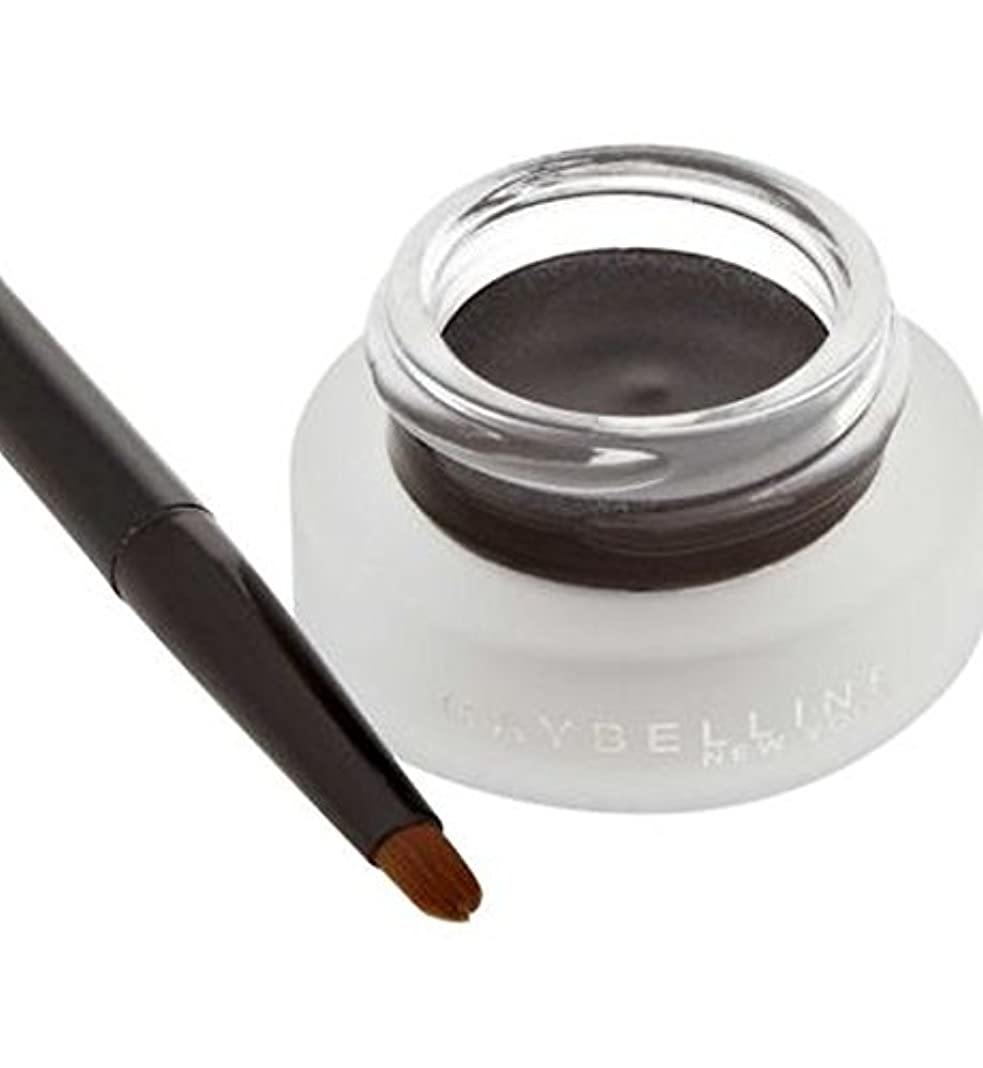 アンビエント引っ張るドラムMaybelline Lasting Drama Gel Eyeliner 02 Brown - メイベリン持続ドラマゲルアイライナー02ブラウン (Maybelline) [並行輸入品]