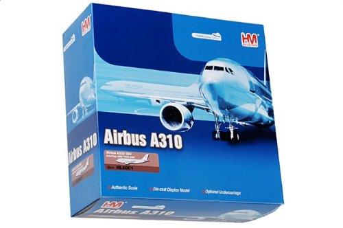 1:200 ホビー マスター 航空 シリーズ HL6001 エアバス A310 ダイキャスト モデル Interflug DDR-ABB 1990【並行輸入品】