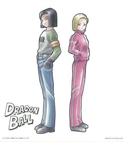 一番くじ ドラゴンボール超 最強の戦士達 C賞 色紙 人造人間17号&18号