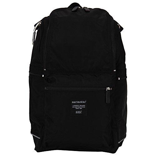Marimekko [ マリメッコ ] BUDDY ナイロンバックパック 026994 black ブラック 北欧 リュック バッグ [並行輸入品]