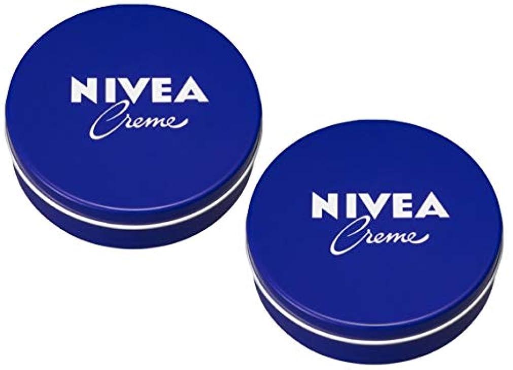 アジア項目付録[2缶セット] NIVEA ニベア クリーム 特大サイズ 400g アルミ缶