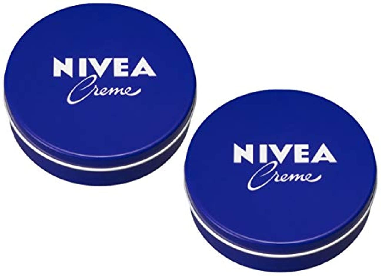 約設定地味なニュース[2缶セット] NIVEA ニベア クリーム 特大サイズ 400g アルミ缶