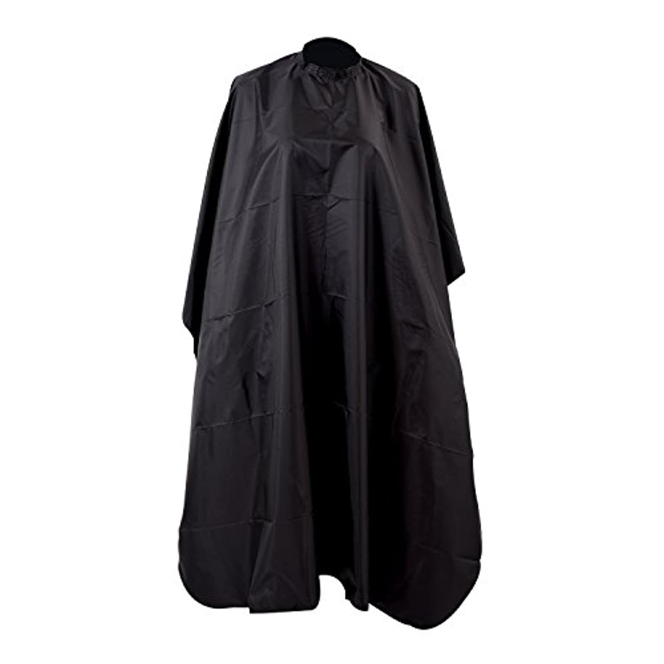 サイレンピジンスロー散髪マント 散髪ケープ サロン ナイロン 黒 120x 150cm