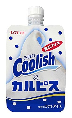 ロッテ クーリッシュ カルピス 140ml×24袋 【冷凍】(1ケース)