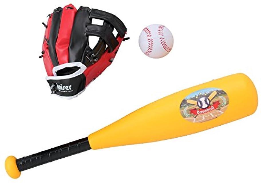 メロディーサイレン若者Kaiser(カイザー) キッズ ベースボール セット KW-543 野球 レジャー ファミリースポーツ