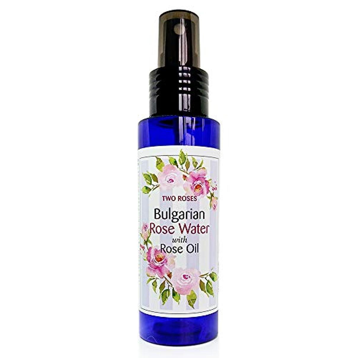 遺産抑圧者夜ブルガリアローズウォーター (ローズオイル入) 100 ml Bulgarian Rose Water with Rose Oil [並行輸入品]