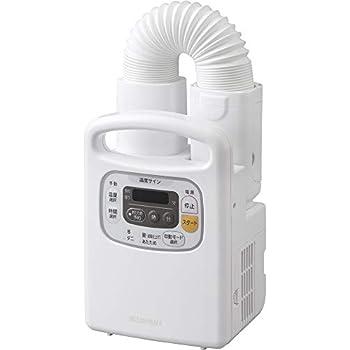 アイリスオーヤマ 布団乾燥機 カラリエ タイマー付き 温風機能付 マット不要 布団1組・靴1組対応 パールホワイト FK-C3-WP