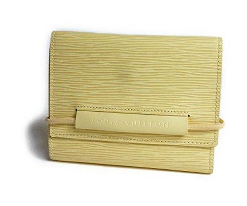 LOUIS VUITTON(ルイヴィトン) エピ 三つ折り財布「ポルトフォイユ エラスティック」 バニラ M6346A