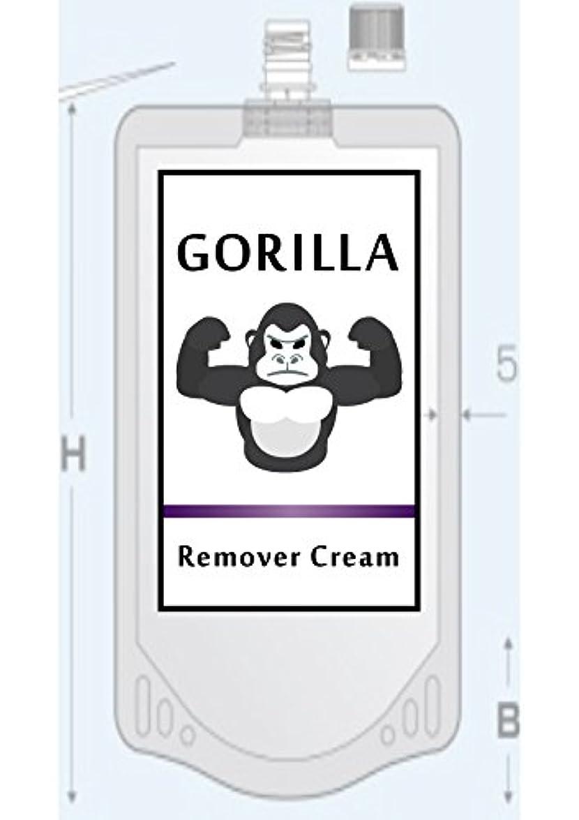 スナップ素晴らしい水族館GORILLA Remover CReam ゴリラ 除毛 リムーバー クリーム 200g メンズ Vライン ボディ用 【医薬部外品】