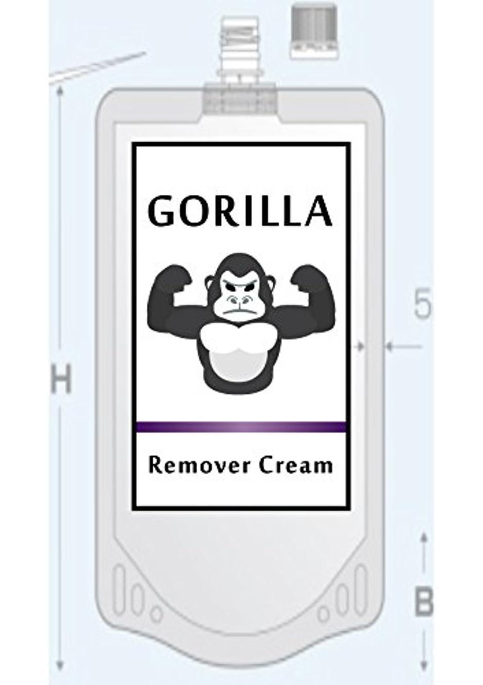 臭い小切手新聞GORILLA Remover CReam ゴリラ 除毛 リムーバー クリーム 200g メンズ Vライン ボディ用 【医薬部外品】