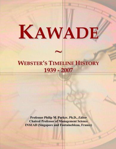 Kawade: Webster's Timeline History, 1939 - 2007