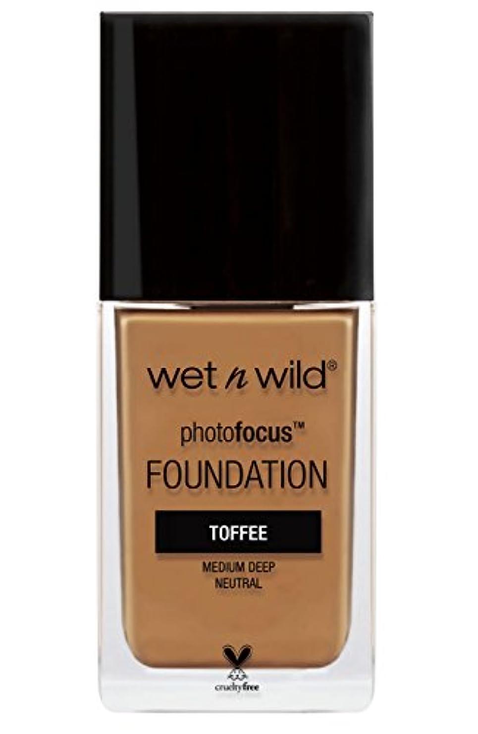 行方不明水平説得力のあるWET N WILD Photo Focus Foundation - Toffee (並行輸入品)