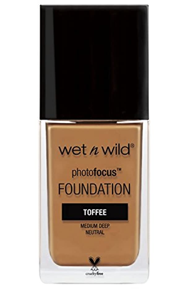 輝く砲撃倒錯WET N WILD Photo Focus Foundation - Toffee (並行輸入品)