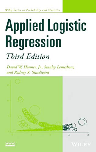 Download Applied Logistic Regression (Wiley Series in Probability and Statistics) 0470582472