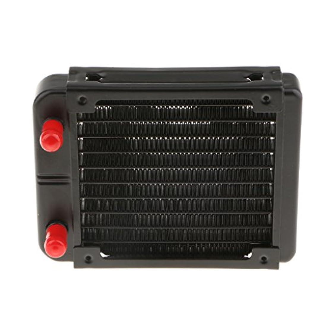 飛行機反発シュガーアルミ コンピュータ CPU 10パイプ 水冷却 ラジエーター システム 120ミリメートル 交換性 多機能 便利性 実用