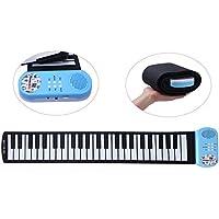 CAHAYA ロールピアノ 49鍵 折畳 電子ピアノ 楽器 玩具 初心者 練習 日本語説明書付き