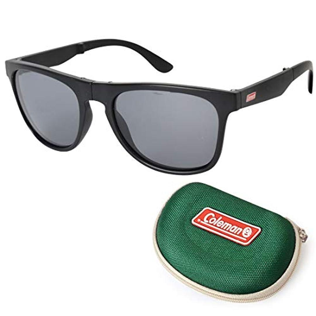 出します変位好むコールマン フォールディングサングラス 偏光サングラス CFD01 スモーク
