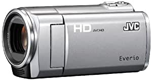 JVCケンウッド JVC 8GBフルハイビジョンメモリームービー プレシャスシルバー GZ-HM450-S