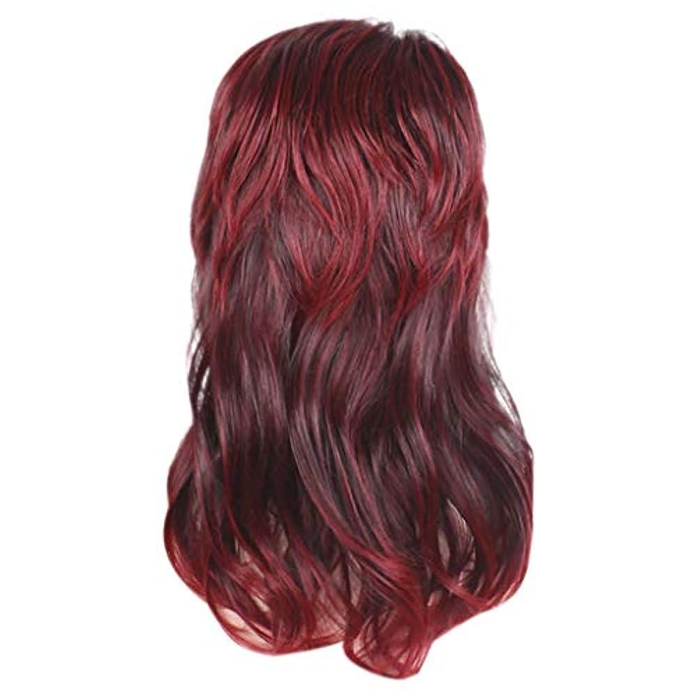 取り扱い外向き予定かつら新しい長い巻き毛の波状のマイクロボリュームセクシーフルウィッグ