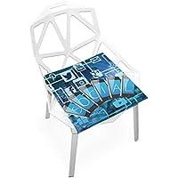 座布団 低反発 コミュニケーション 社交 ビロード 椅子用 オフィス 車 洗える 40x40 かわいい おしゃれ ファスナー ふわふわ fohoo 学校