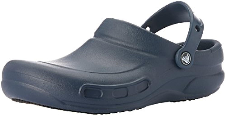 [Crocs] (クロックス) ユニセックス ビストロ 10075 ワーククロッグ カジュアルシューズ ワークシューズ 男女兼用 (11 UK) (ネイビー)