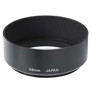 ETSUMI メタルフードII 58mm用 ブラック E-6568