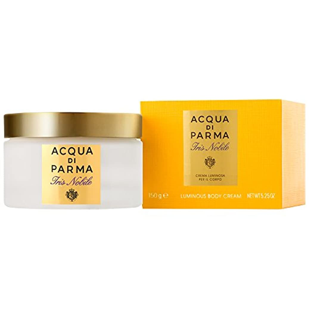 収縮スツール羊のアクア?ディ?パルマアイリスノビレボディクリーム150ミリリットル (Acqua di Parma) (x2) - Acqua di Parma Iris Nobile Body Cream 150ml (Pack of...