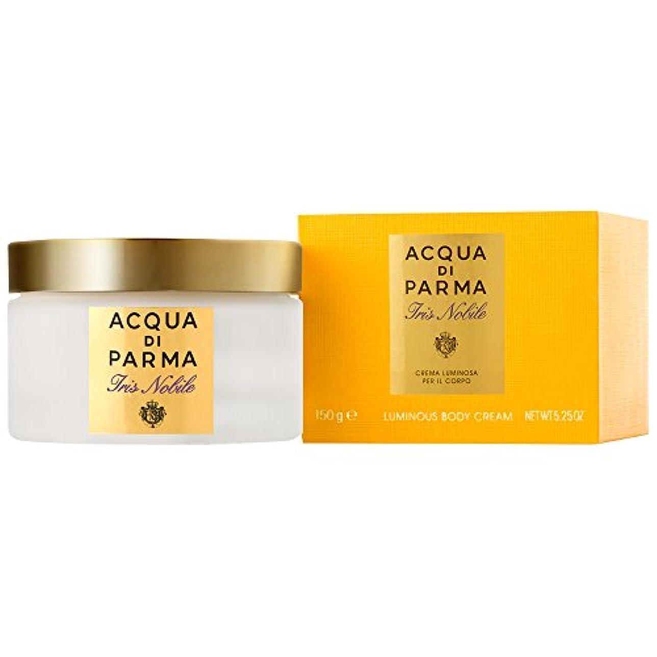トーナメントピラミッドおびえたアクア?ディ?パルマアイリスノビレボディクリーム150ミリリットル (Acqua di Parma) (x2) - Acqua di Parma Iris Nobile Body Cream 150ml (Pack of 2) [並行輸入品]