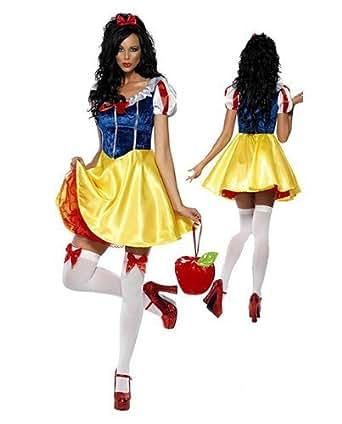 白雪姫 ドレス コスチューム a346 レディース フリーサイズ